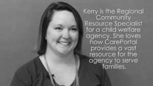 Faces of CarePortal: Kerry, Agency Employee