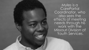 Faces of CarePortal: Myles, Coordinator